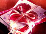 Midget valentines card