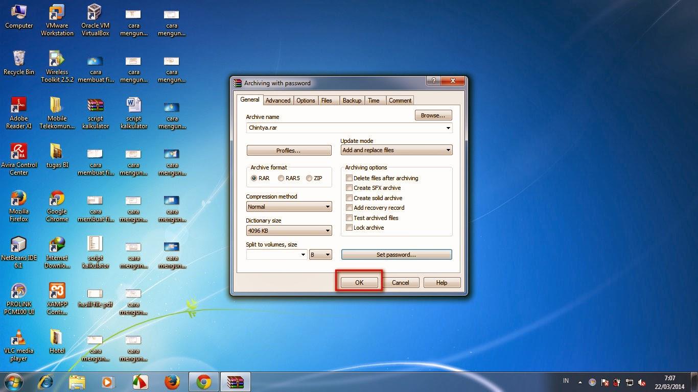 Cara Mengunci Hardisk Dan Folder Dengan Password