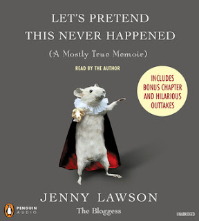 Let's Pretend This Never Happened by Jenny Lawson audiobook cover