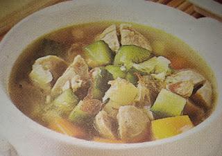 Sup Ayam Mentimun