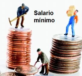 Equivalencia del salario mínimo.