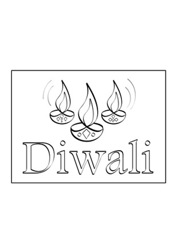 Diwali Colouring Pictures http://printablecolouringpages.co.uk/?s=diwali+lamps