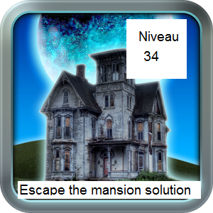 Solution escape the mansion niveau 34
