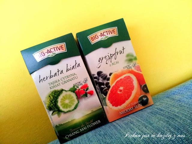 herbaty BIG ACTIVE