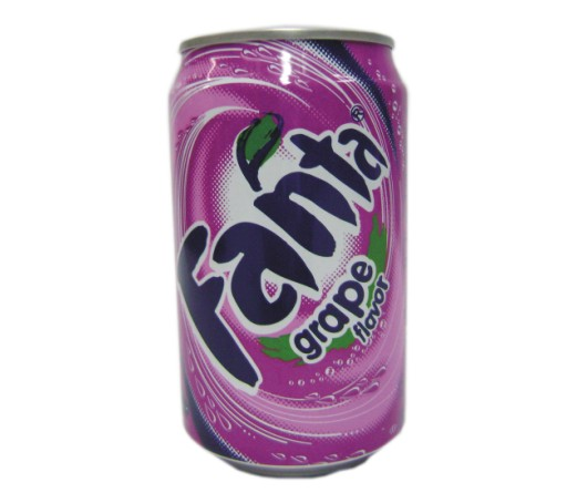 Pictures Blog: Grape Fanta Can