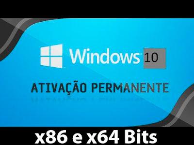 Windows 10 Ativação Permanente Capa