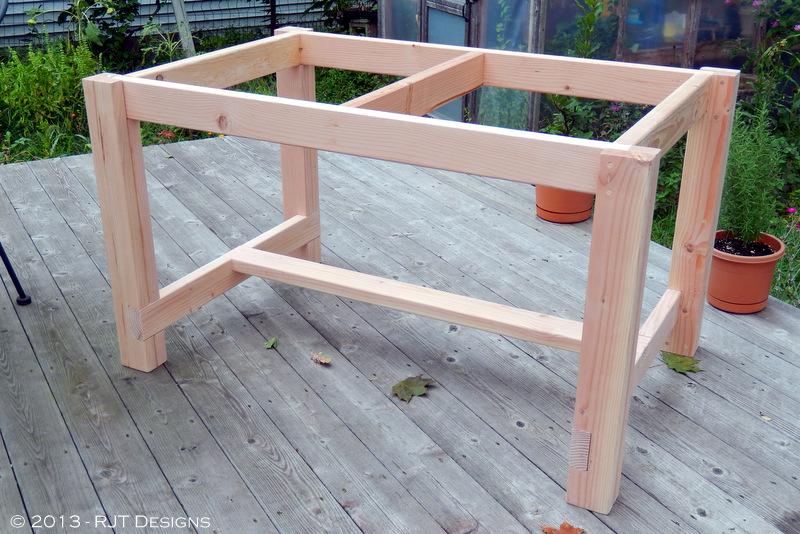 Bepas Garden Building A Farmhouse Table - Building a farm table