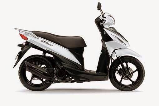 Suzuki Adress Brilliant White