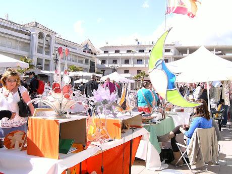 Nerja y el mercado 7 de abril de 2012