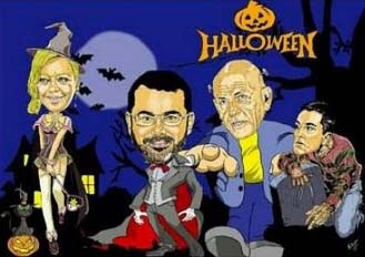 HABIA UNA VEZ....... - Página 8 Caricaturas-bito-comics-belen-esteban-salvame-halloween