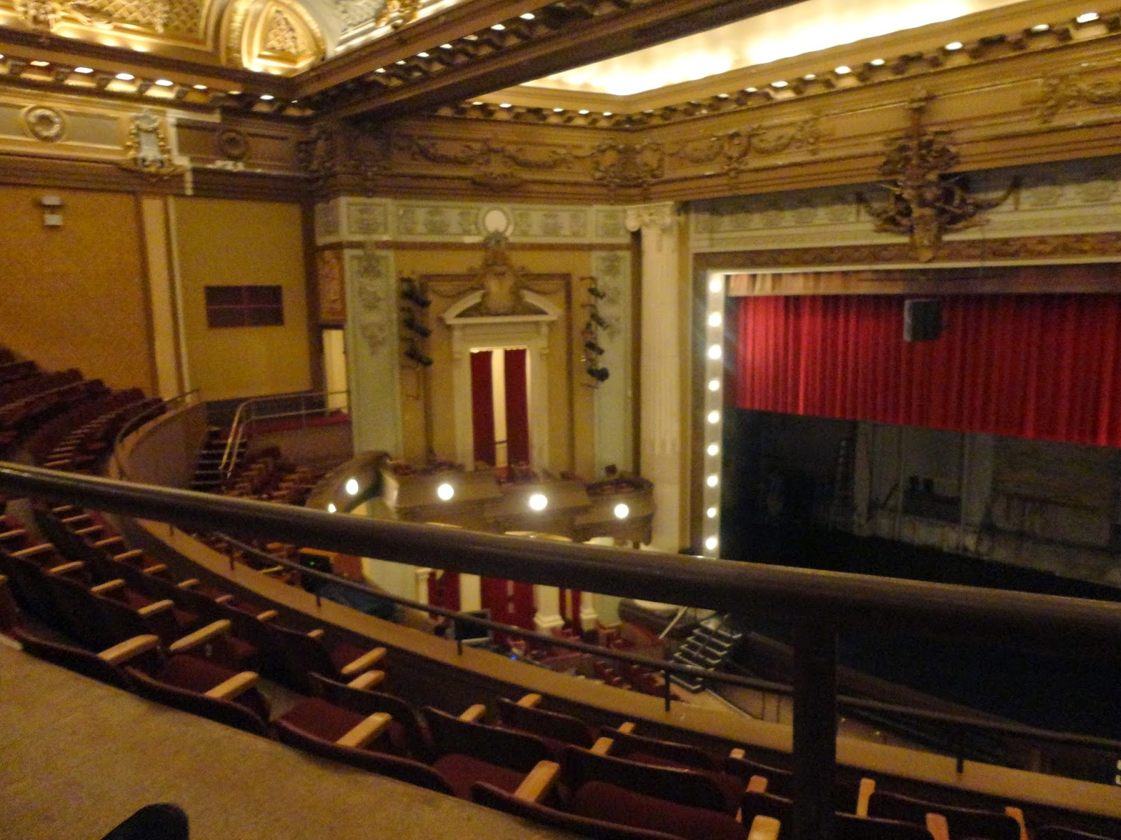 Pantages Playhouse/Theatre Interior