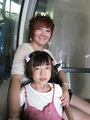 In the cable car with Connie