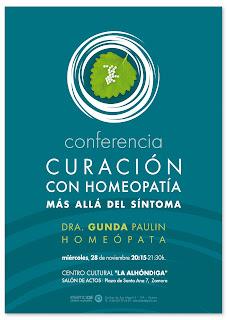 cartel ::: curación con homeopatía
