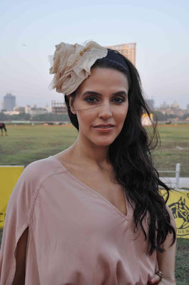 neha dhupia at 3rd asia polo match 2012 hot photoshoot