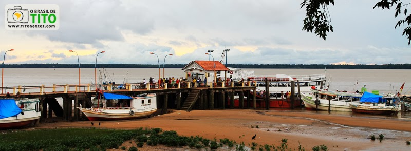 Trapiche de Icoaraci, um distrito de Belém - Pará