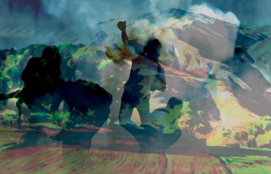 Paisaje a Tiempo Collage III