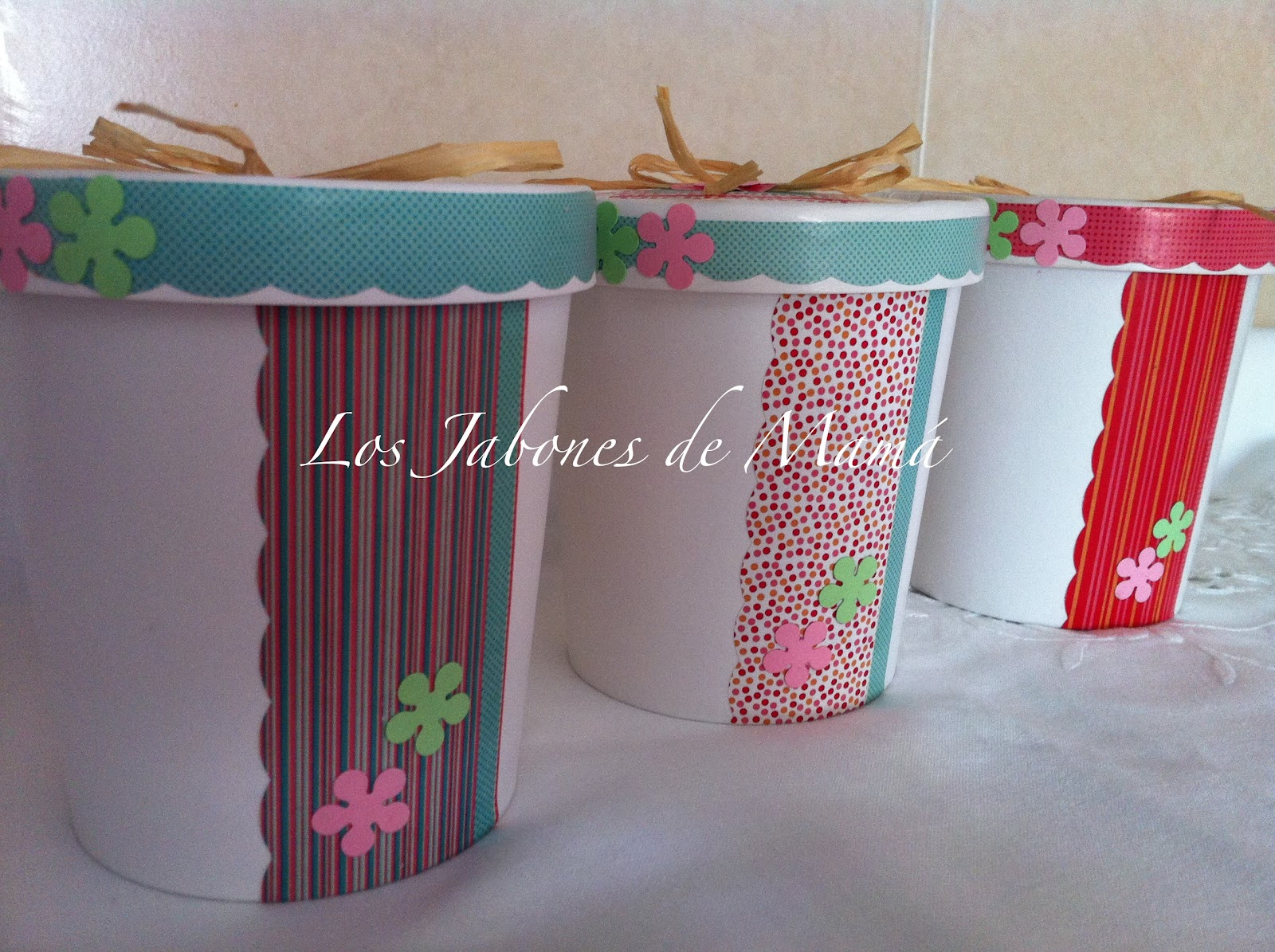 Los jabones de mam detalles de boda cupcake en bote - Detalles de decoracion ...
