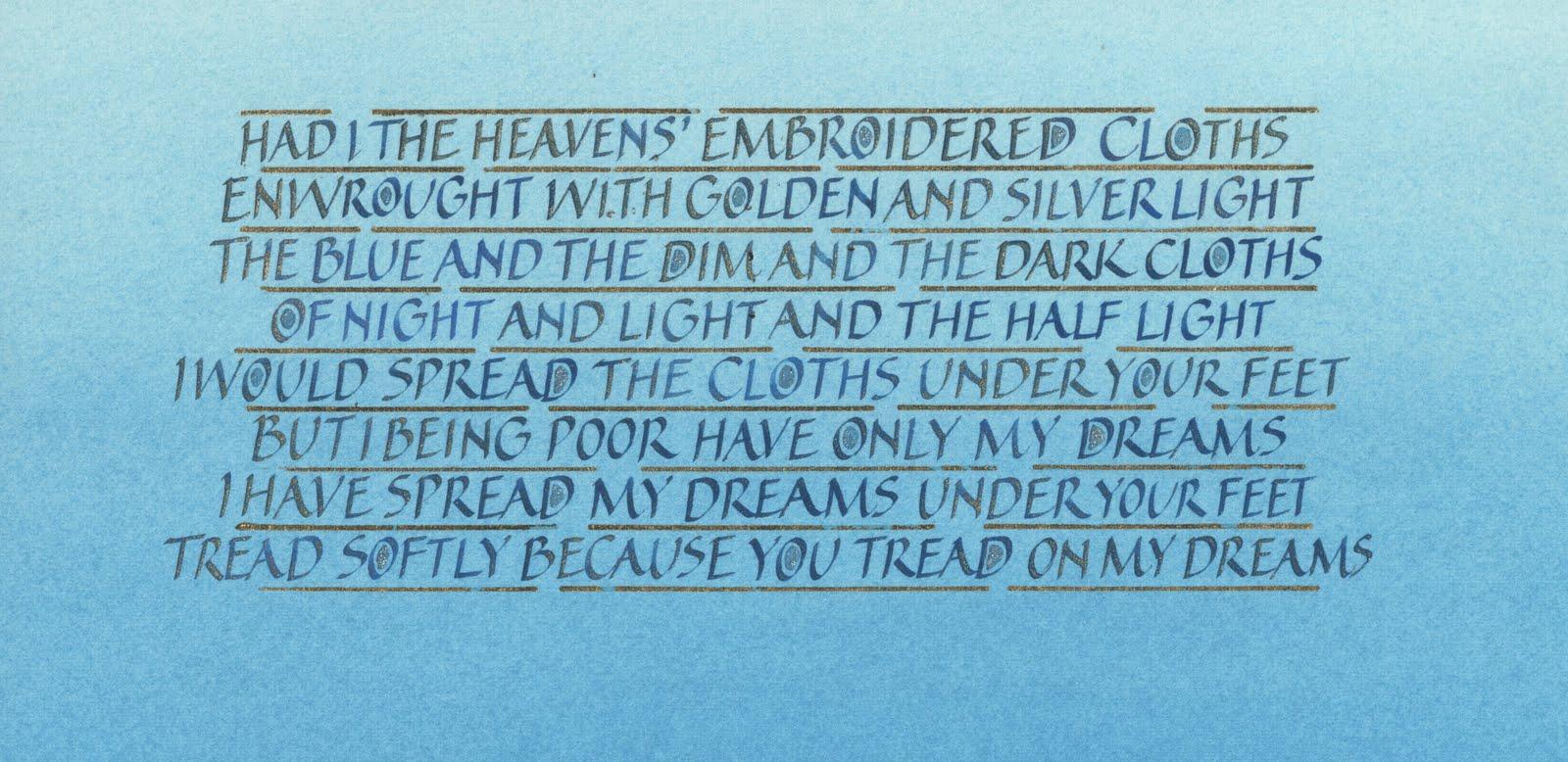 cloths of heaven %photo
