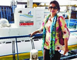 "Akhi is the item girl in Bangla movie ""Mayanagar"""