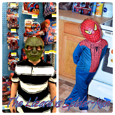 lizard & Spiderman