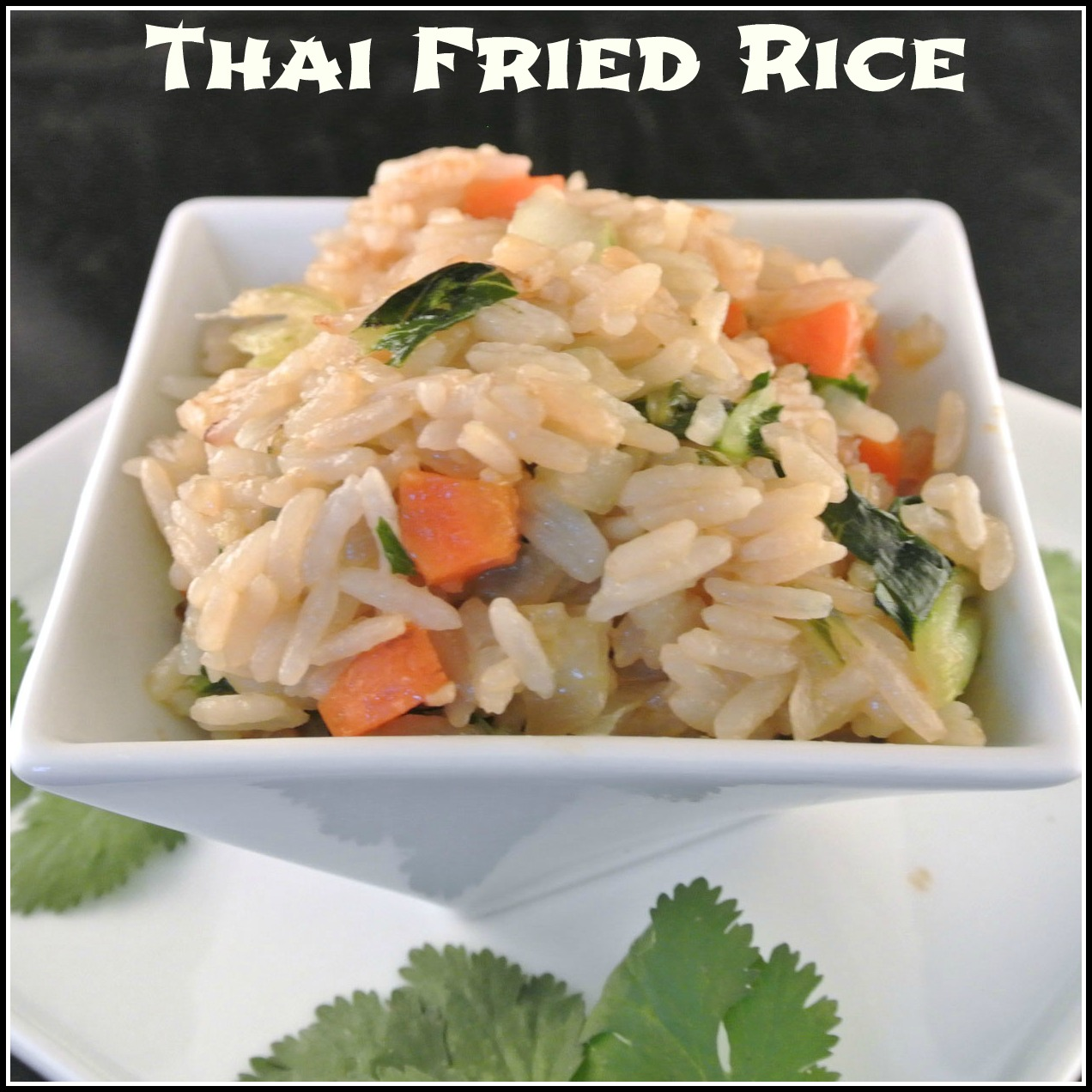 Mom, What's For Dinner?: Vegan Thai Fried Rice