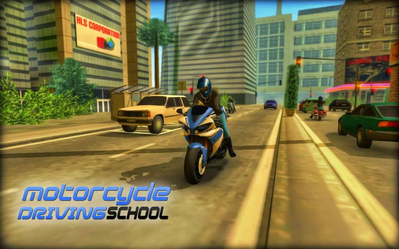 Bike Games To Play At School Motorcycle Driving School All