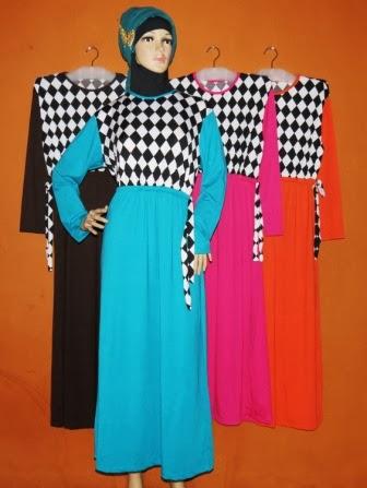 Gamis Gaul Murah Gkm4575 Grosir Baju Muslim Murah Tanah