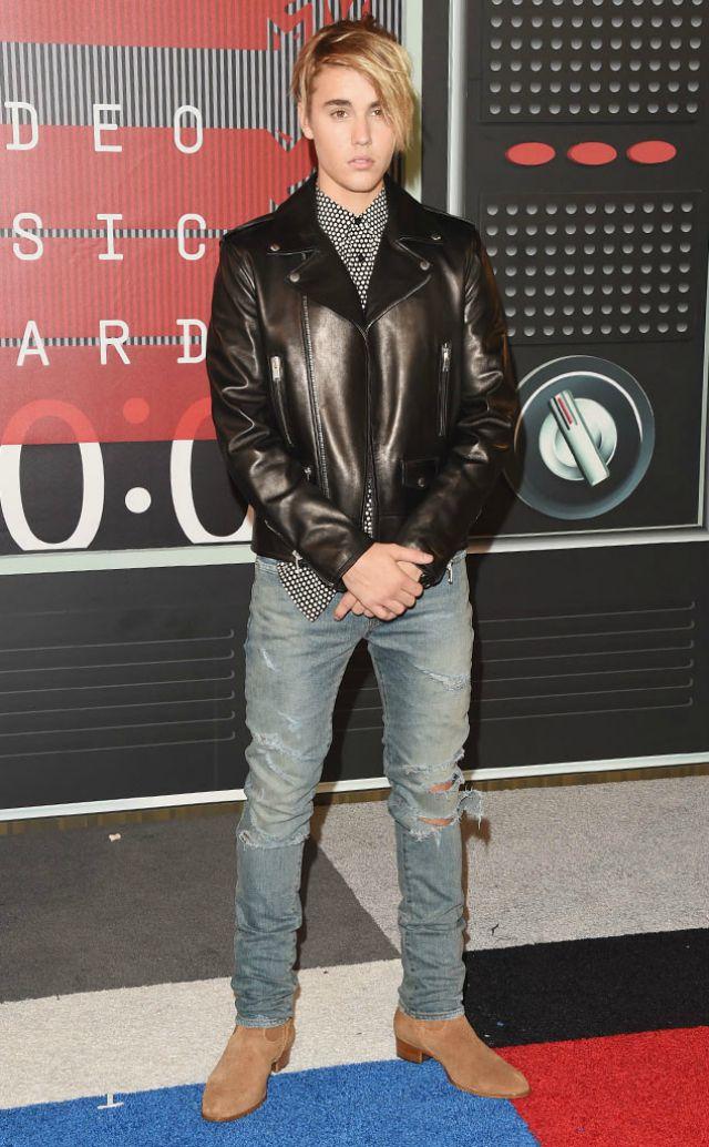 Justin Bieber at the VMAs 2015