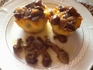 gateau di patate ai funghi
