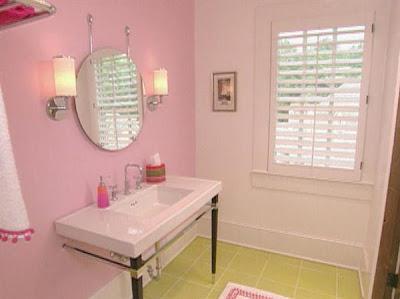 Gallery for pink girls bathroom symbol for Teenage girls bathroom ideas