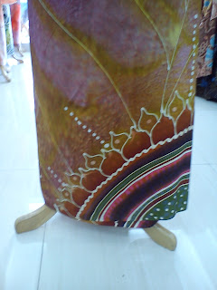 Batik Sutera Crepe Exclusive Purple 3