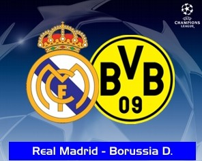 VER REAL MADRID VS BORUSSIA DORTMUND, SEMIFINALES, CHAMPIONS LEAGUE, VIDEOS ONLINE