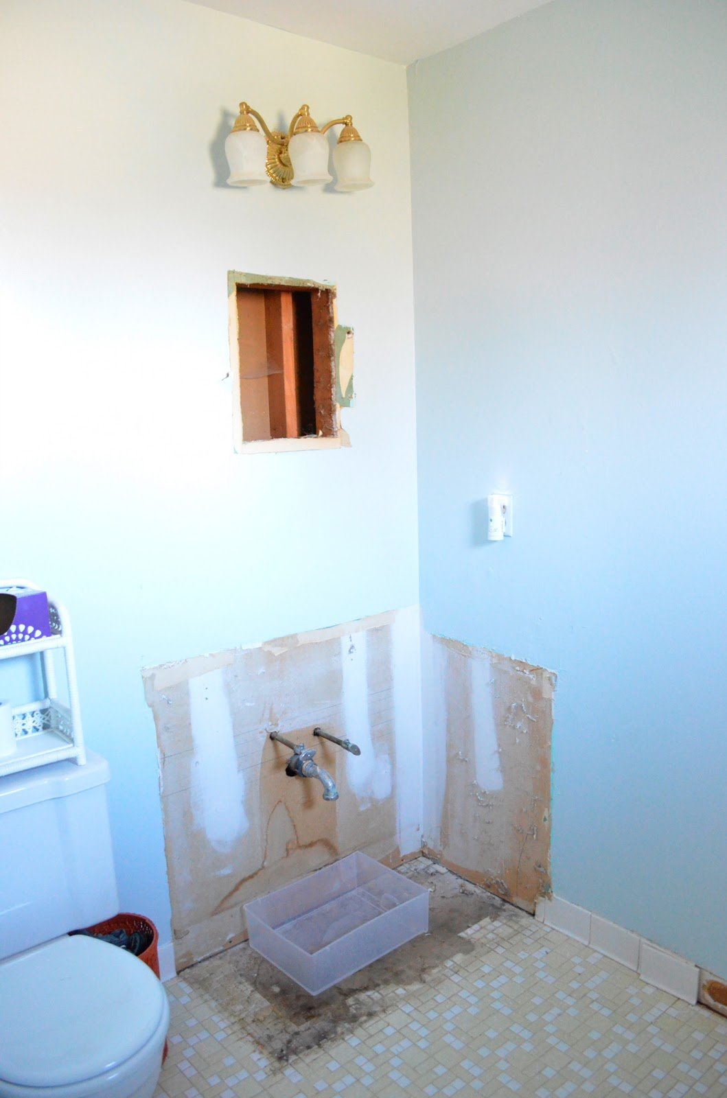 Crazy Little Thing Called Life: Master Bathroom Remodel
