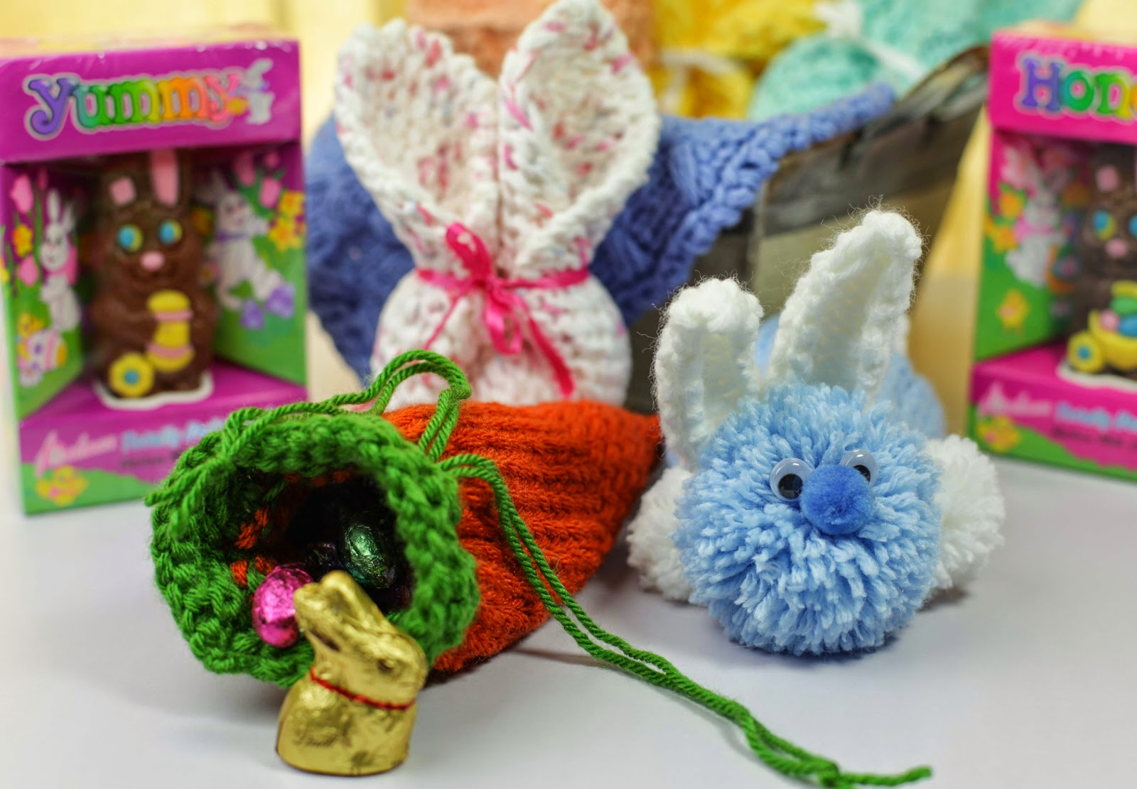 Loom knit bunny carrot candy holders loom knitting by this loom knit bunny carrot candy holders negle Gallery