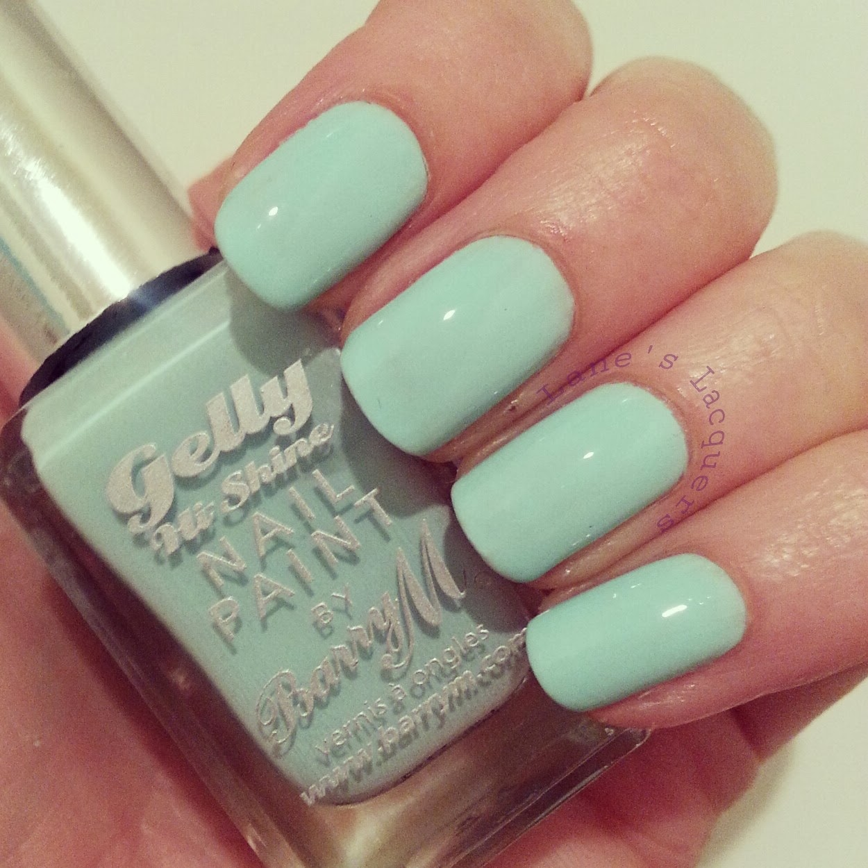 new-barry-m-gelly-nail-polish-sugar-apple-swatch-nails
