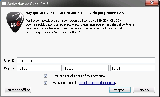 Guitar Pro 6.1 2012 Full Español Edite Tablas de Guitarra Bajos y Banjo