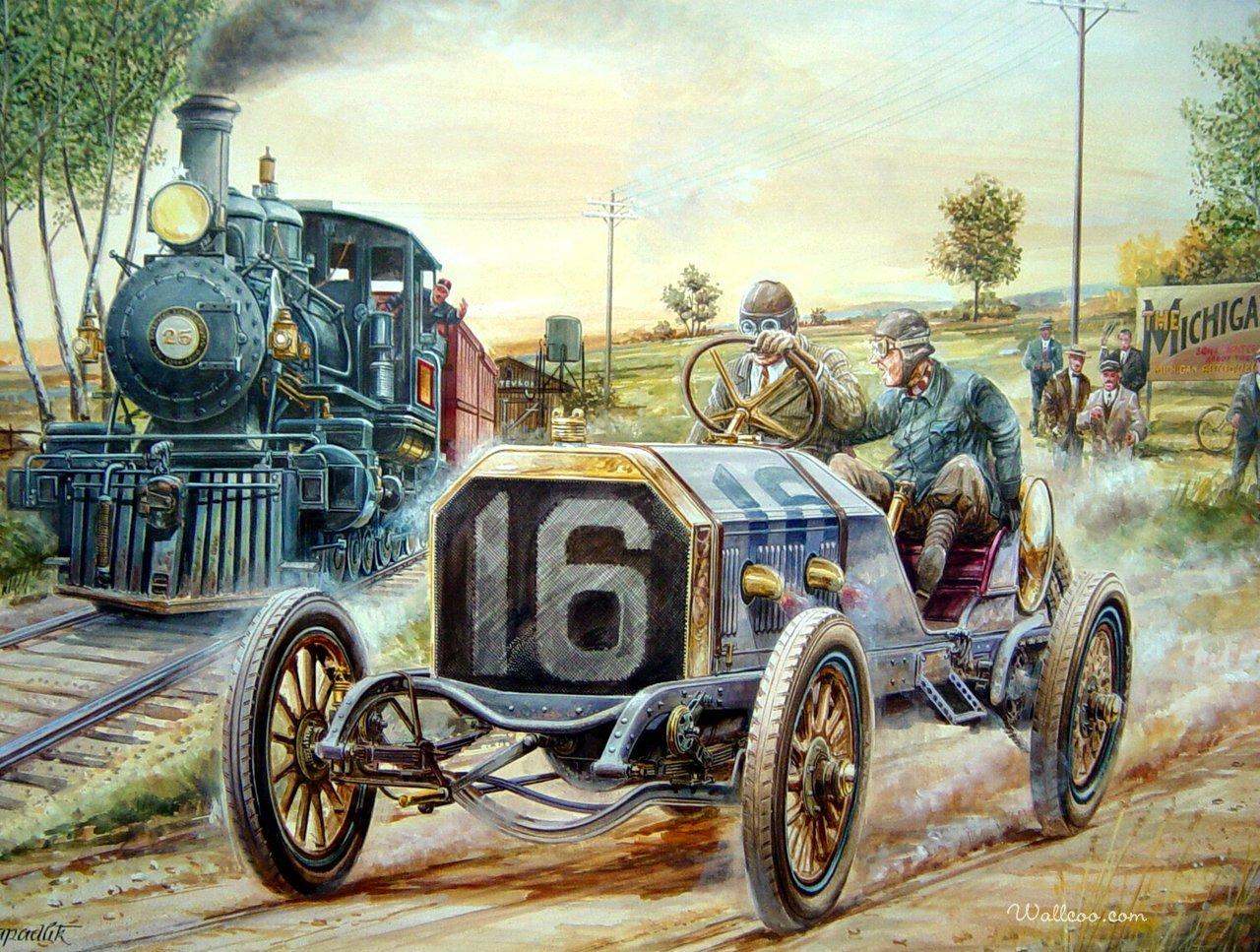 Lukisan Kereta