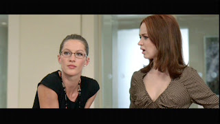 Gisele Bundchen and Emily Blunt (left to right) at Devil Wears Prada
