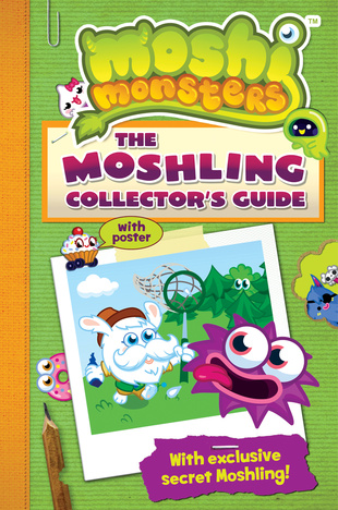 The Moshling Collector's Guide from Buster Bumblechops