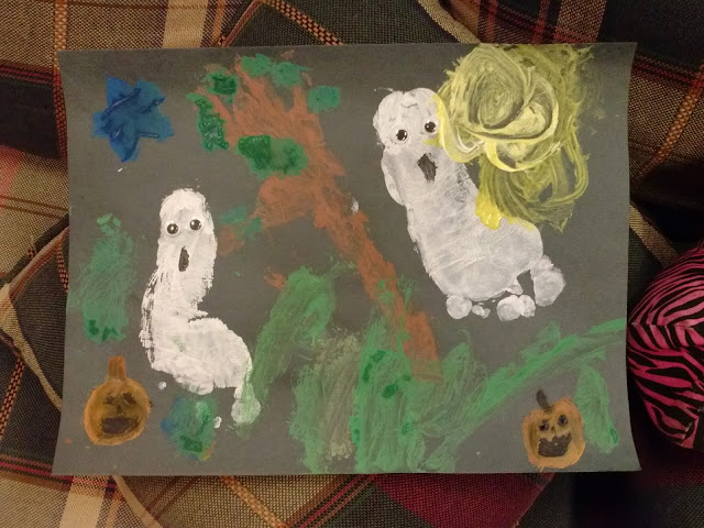 Halloween Paint Craft