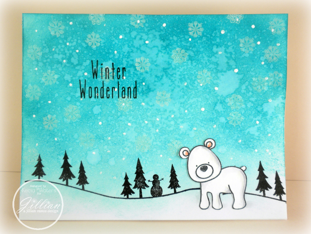 AJVD, Whimsie Doodles, Kecia Waters, polar bear