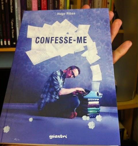Livro Confesse-me, Hugo Ribas