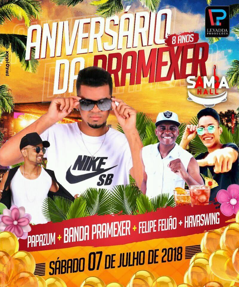 ANIVERSÁRIO DA PRAMEXER