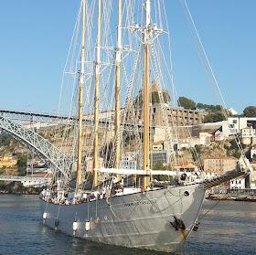 "Viagem de treino de mar no ""Santa Maria Manuela"" Funchal - Dunkerque"