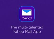 El nuevo Yahoo correo en i Pad