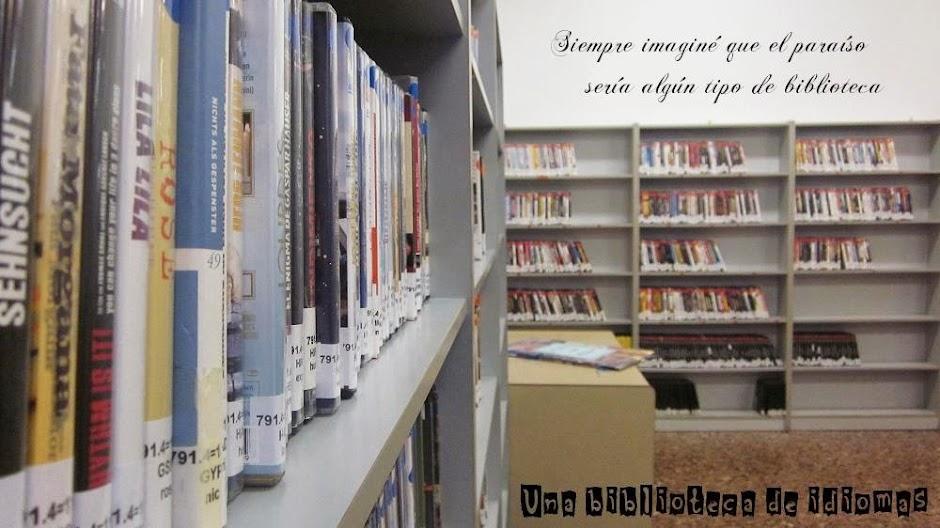 Una biblioteca de idiomas
