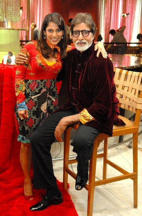 Amitabh Bachchan on Koel's Couch Pics