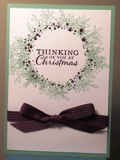 Awesomely Artistic christmas card zena kennedy independent stampin up demonstrator