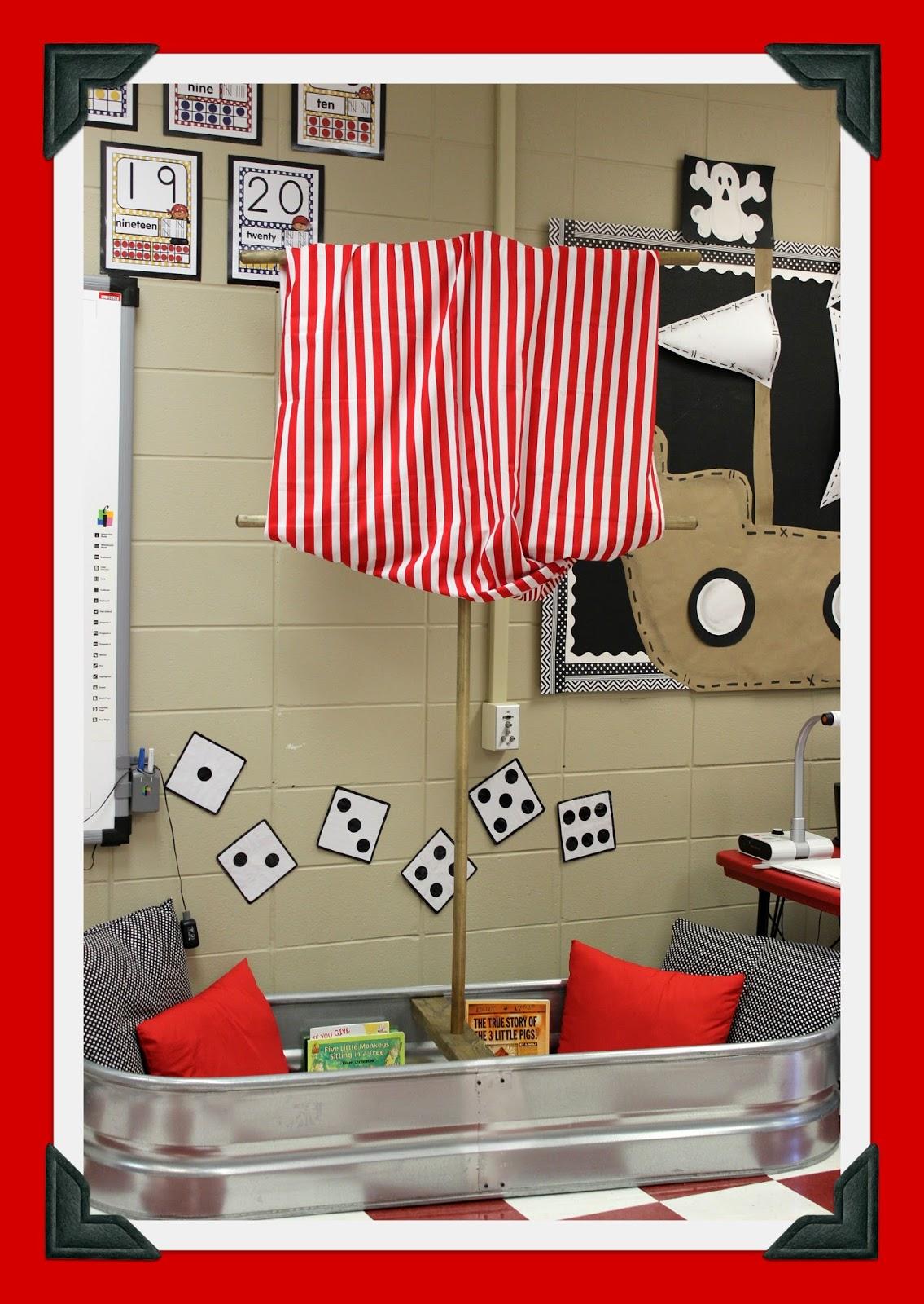 Teacher Classroom Decor Websites ~ Glyph girls teacher feature pirate theme