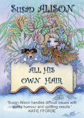 All His Own Hair by Susan Alison: romantic comedy with a touch of sabotage